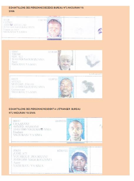 Des imposteurs à l'assemblée nationale des COMORES