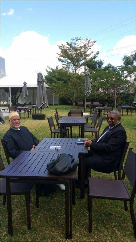 Comores : SAMBI s'est entretenu avec le président de l'Assemblée malgache