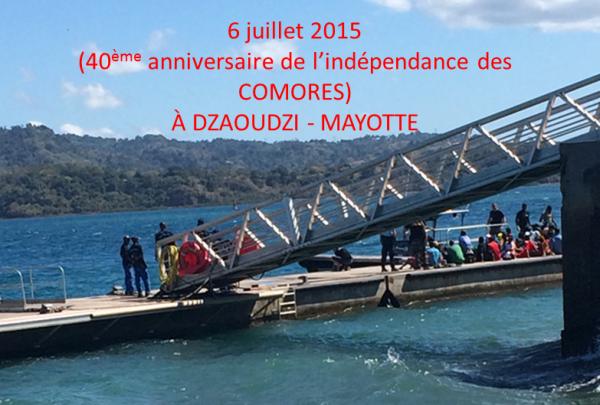 CEUX QUI NE CONNAISSENT PAS LA FETE DE L' INDEPENDANCE DES COMORES