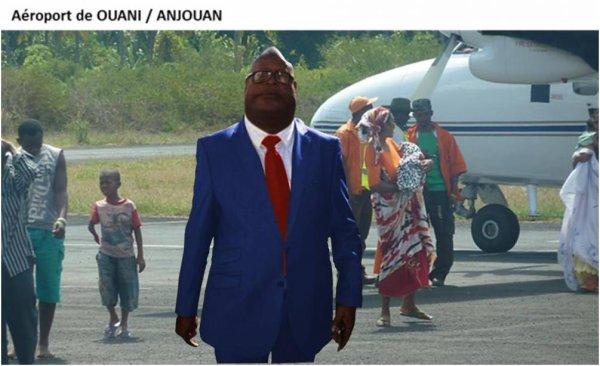 COMORES : Il est gonflé HOUMADI M'saidié