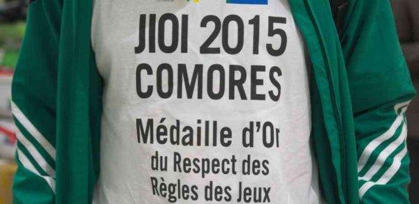 Jeux des îles: salut fraternel à nos amis Comoriens médaille d'or du Respect