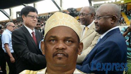 Le président des Comores gâche des moments historiques