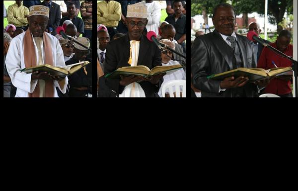 IKILILOU DHOININE s'adresse aux membres de la Cour Constitutionnelle