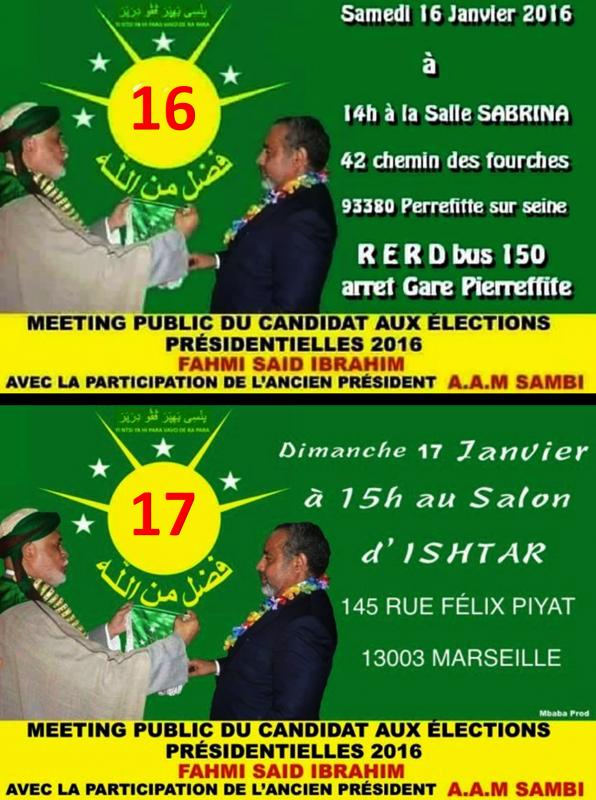 FAHMI et SAMBI en France