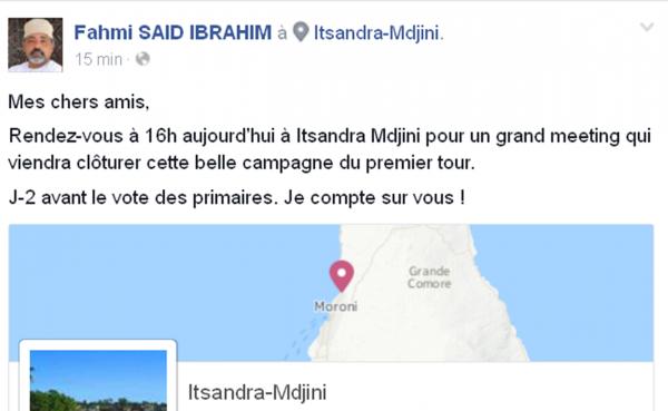 FAHMI  VOUS INVITE A UN MEETING A ITSANDRA