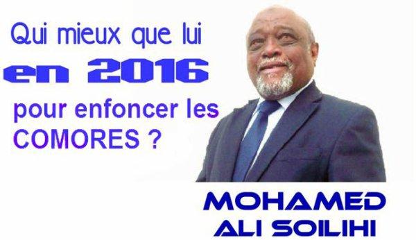 COMORES : LE MAMADOU NOUVEAU SE VEUT LA FORCE DU CHANGEMENT
