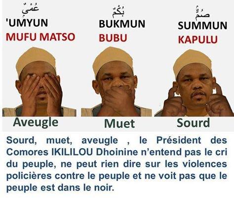 Comores : La stratégie d'IKILILOU peut jouer contre lui