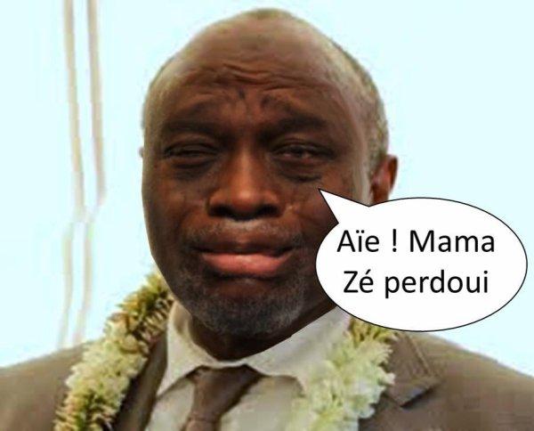 Comores : MAMADOU pleure sa défaite