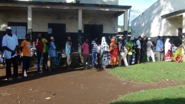 Mohéli : Le vote a commencé