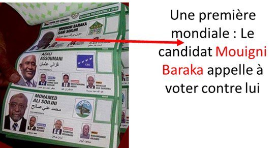 Comores / Eléctions : La CC ne lit pas le droit.