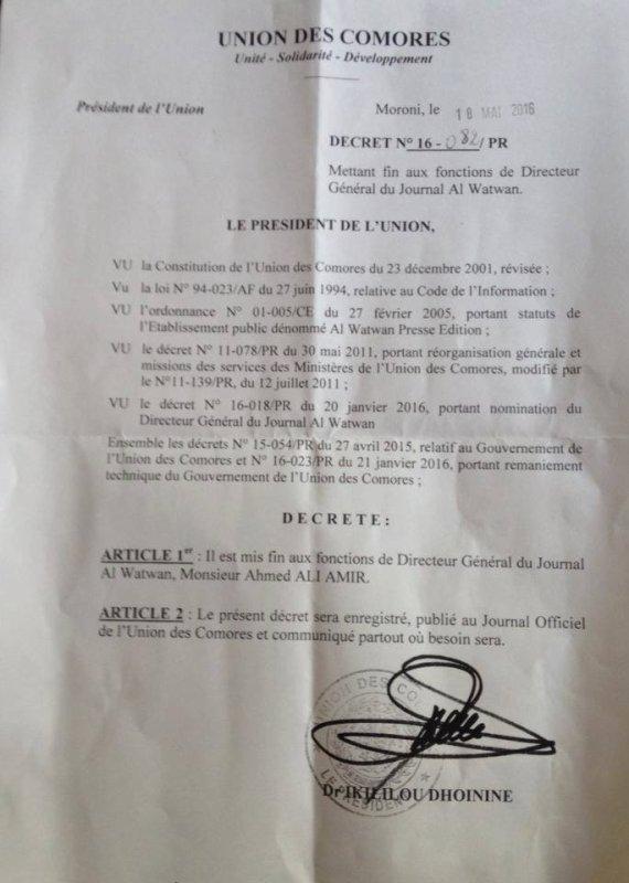 Violences à Mayotte : Un sévère reveil  d'IKILILOU DHOININE