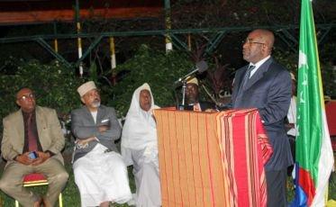 Discours du Président de l'Union des Comores, Azali Assoumani à l'occasion de l'Aïd-El-Fitr 1437 et du 41ème anniversaire de l'indépendance