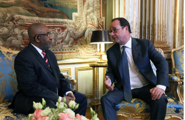Comores / France : HOLLANDE a reçu AZALI