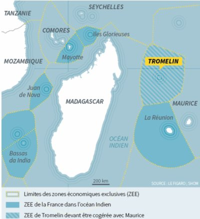 Tromelin, MAYOTTE..... La FRANCE ne veut rien céder !