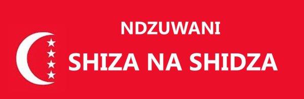 COMORES : NDZUWANI, SHIDZA na SHIZA