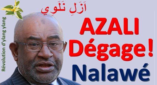 Comores : AZALI  dégage !