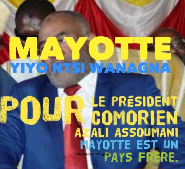 Le Président AZALI : «Mayotte est un pays frère «