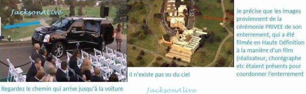 La cérémonie privée des Jackson, entre mensonge et fausseté