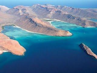Isla Espíritu Santo Paraíso del Mar de Cortés´''