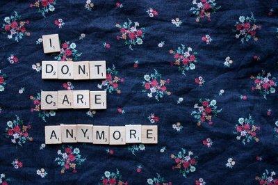 Rien n'est grave parce qu'il y a une fin à tout.