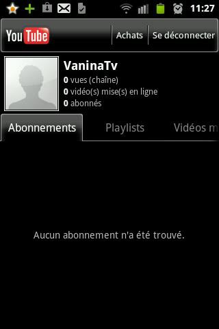 Creation d'une chaine youtube