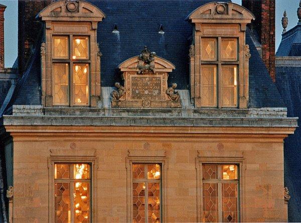 564 *  Soleil couchant sur Fontainebleau. Nikon F4S  400mm f/5.6 sigma