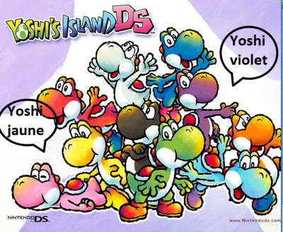 Image De Yoshi En Plein De Couleur Blog De Mario Toad Yoshi