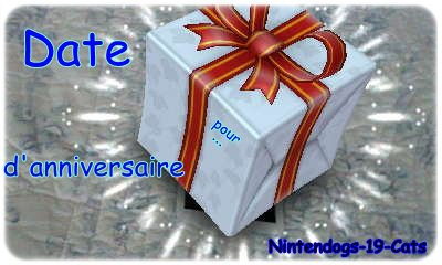 Date d'anniversaire