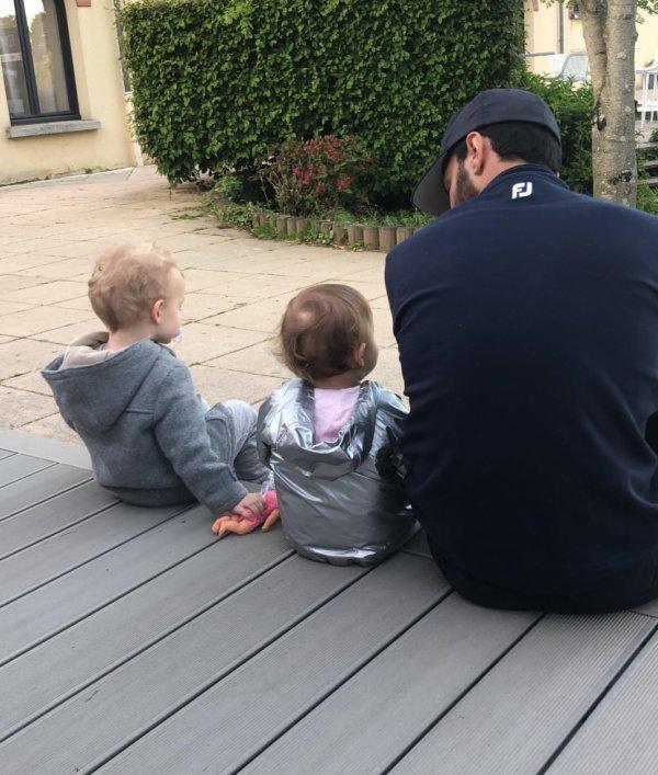 Clément Grenier & sa fille Paola & Timao Bourigeaud