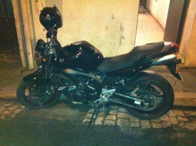 Ma new moto une FZ6N.
