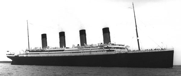 L'histoire des 3 Grand sister ship de la (White Star line)