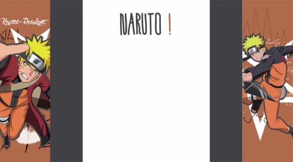 Habillage Naruto.