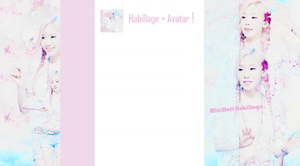 Habillage n°43 + Avatar !