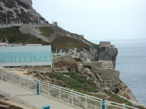voici quelques photos de notre séjour au rocher de Gibraltar les macaques se promènent en liberter