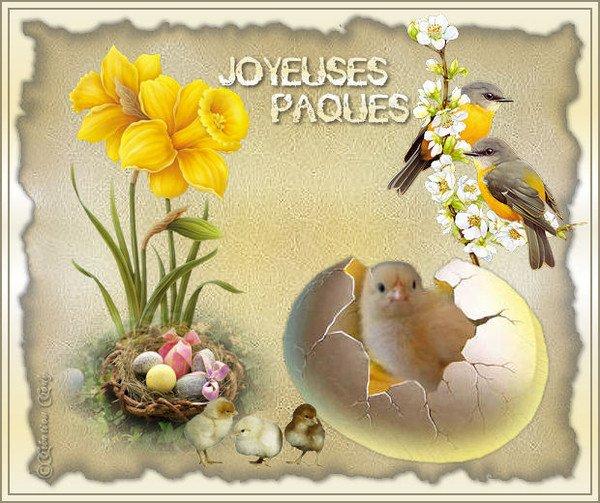 Joyeuses Paques a tous