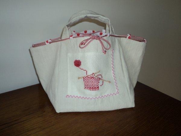 sac pour le tricot