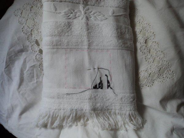 serviette et drap de bain