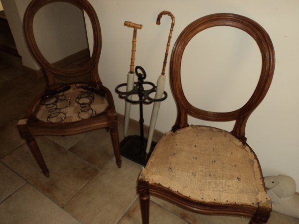 Mes deux autre chaises