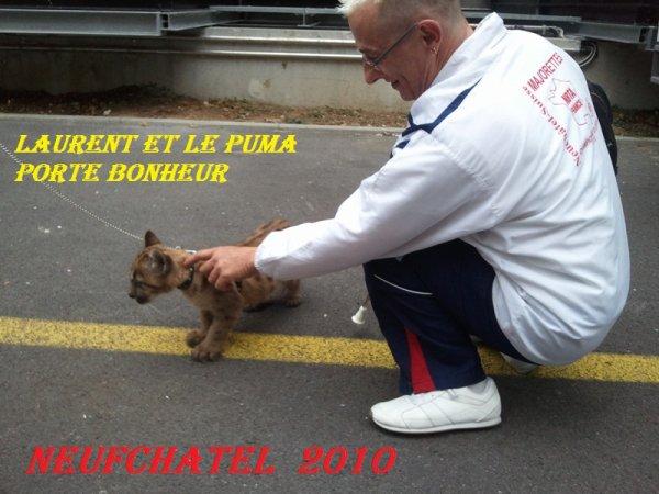 moi et le puma a l'europe