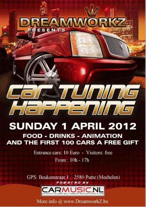 meeting du CAR TUNING HAPPENING   belgique
