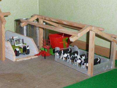 nouvelle stabulation à vaches