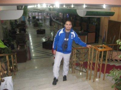 moi dans le hotel algerie 5 etoile