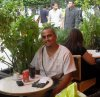 je monge sur caftirya de tunisie