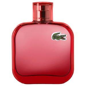 ma femme qui achté une vrai parfum de mon annévaraiser lacoste rouge