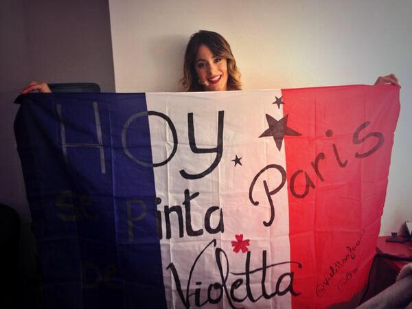 Remixe si t'st fiere qu'elle ait notre drapeaux.