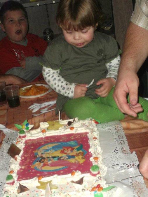 anniversaire maeli deux ans