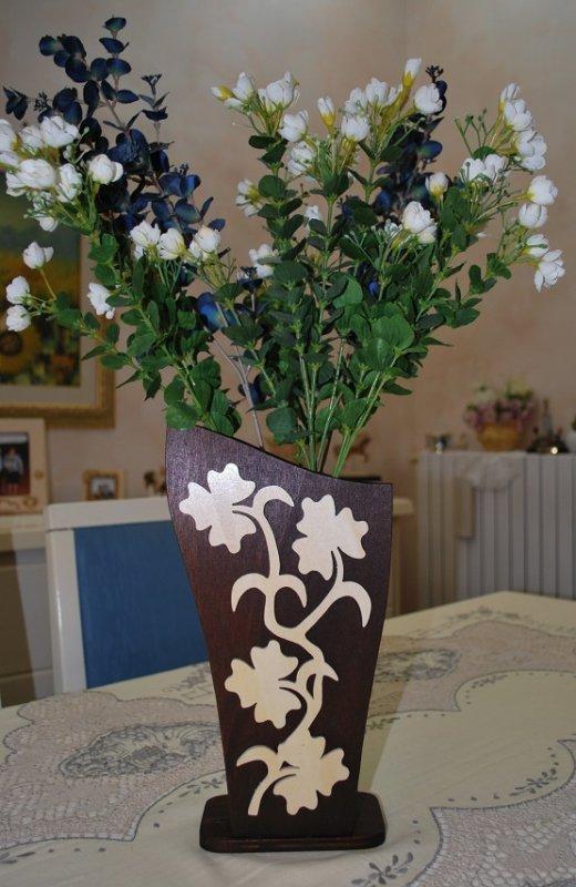 Vase Wood................