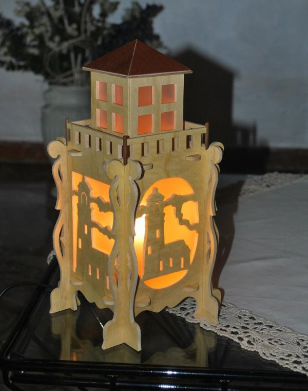 Lamp Lighthouse.............