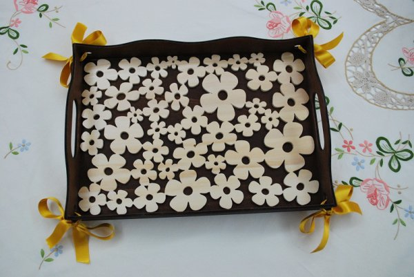 Tray Flowers.................