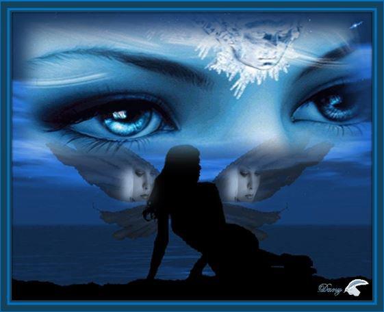 @ Une petite Créa   bleue  pour votre  Jeudi matin ,  mes amies et amis@